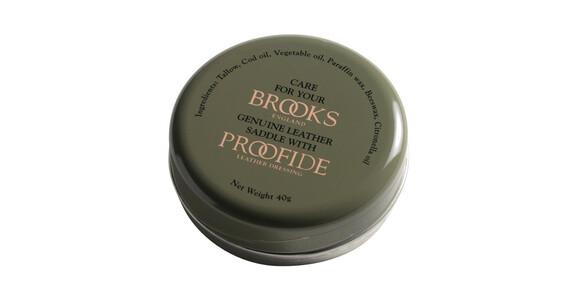 Brooks nahkasatulan erikoisrasva puhdistus & huolto 40 g , oliivi